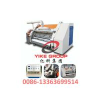 Best Single Faced Corrugated Carton Machine 1400-1800mm Width Hard Chrome Material wholesale