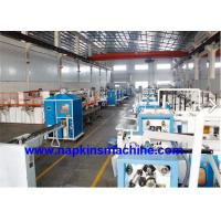 Best Servo Motor Facial Tissue Paper Production Line With Packing Machine wholesale