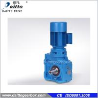 China Helical Worm Geared Motor gear reducer on sale