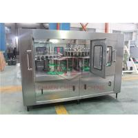 Best Monoblock 3 In 1 Pet Bottle Filling Machine Automatic Washing Filling Capping Machine wholesale