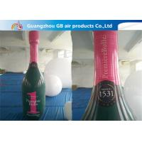 Best Good Quality OEM PVC Inflatable Champagne Bottle For Advertising wholesale