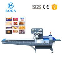 Best High Accuracy Chocolate Packing Machine Servo Cross Seal Rice Crackers Food Sealing wholesale