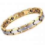 Best New Super Fashion Tagor Jewelry Factory Ceramic Tungsten Series Bracelet TYWB064 wholesale
