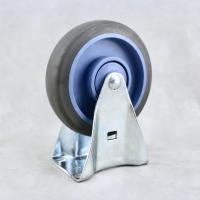 China Small Thermoplastic Rubber Roller Wheels for Refrigerator Freezer Dolly on sale