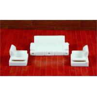 Best Architectural Scale Model Home Furnishing 1:50 ABS Living Room Sofa  wholesale