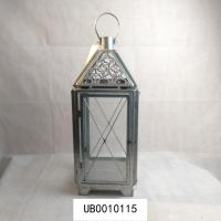 Best contemporary metal candle holder lantern glass candle holder wall hanging display for hotel decoration wholesale