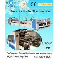 Best Folder Gluer Automatic Cartoning Machine , Carton Automated Packing Machine wholesale