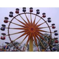 China Flower Cabins Design Amusement Park Ferris Wheel Driven By Electric Control System on sale
