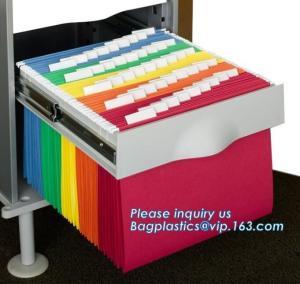Best Promotional Eco Retail Packaging A4 Brown Kraft Paper File Folder Filling Document wholesale