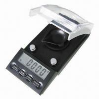 China Stylish High-precision Carat Scale with 10/0.001g and 20/0.001g Capacity on sale