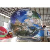 Buy cheap Opening Ceremony Inflatable Advertising Balloons / Inflatable Earth Ball from wholesalers