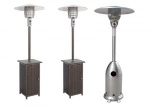 Best Outdoor Silver Flexible Propane Gas Electric outdoor natural gas patio heater wholesale