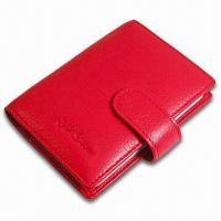 Best Card Wallet, Measures 10.5 x 8.5 x 1cm, Various Colors are Available, Made of PVC Leather wholesale