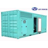 Best Heavy Duty 1000kVA Cummins Diesel Generator / Cummins Power Station wholesale