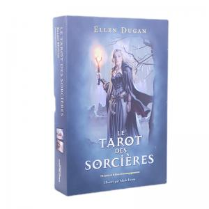 Linen Oracle Tarot Card , PMS Colors print oracle cards With Manual Book