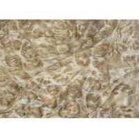 Best 0.5 mm Mappa Burl Wood Veneer , Nardwood Thin Wood Veneer Sheets wholesale
