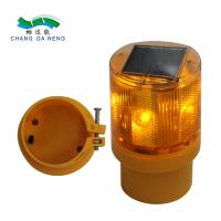 Best PC Solar Powered  LED Traffic Barricade Warning light road flashing light wholesale