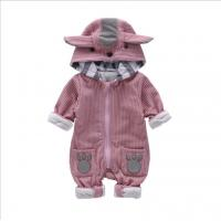Best Funky Cute Newborn Baby Clothes Animals Pattern Winter Rompers For Baby Girl wholesale