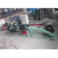Best 1.6 - 3.0 Mm Single Strand Barbed Wire Making Machine Durable Long Service Life wholesale