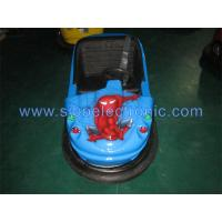 Best Sibo Shopping Mall Blue Spider Man Battery Powered Bumper Cars Played By Kids wholesale