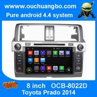 Best Ouchuangbo Car Radio GPS Navigation Stereo Android 4.4 System for Toyota Prado 2014 DVD Multimedia Kit OCB-8022D wholesale