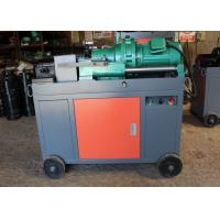 China Peeling Rebar Thread Rolling Machine Portable Pipe Threading Machine 5.5KW on sale