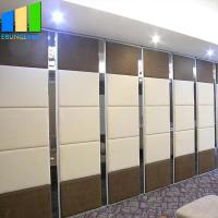 Best Office Folding Partition Walls Aluminium Channel Mdf Room Divider Movable Partition wholesale