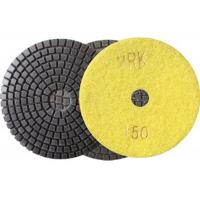 China 100mm 4 Inch Diamond Wet Resin Polishing Pads High Efficient disc on sale