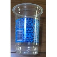 Cheap Disposable plastic cups with lid drink cups with lid plastic cups 500ML cups for sale