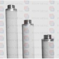 Best Purity 99.7% pure titanium powder cartridge micro filter for ozone water treatment wholesale