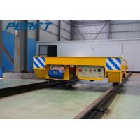 Best Battery Powered Electric Flat Transfer Car on Rail with Remote and Hand wholesale
