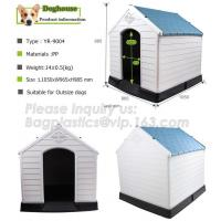 China New Style Outdoor Breathless Removable Dog House Plastic Three Sizes Plastic Dog House, Cat Dog House Of Pet Home, bagea on sale