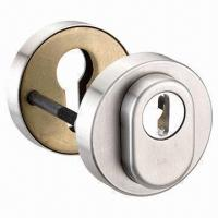 China Anti-drilling Cylinder Protector/Accessory, Security Rose + Hole for Cylinder in Stainless Steel on sale