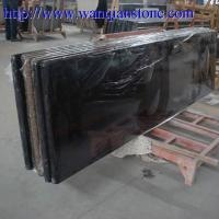 China Absolute black Granite countertop on sale
