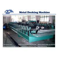 Best Steel Structure sheet Floor Decking Roll Forming Machine with Double 11KW Motor Driven wholesale