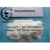 Best 99%  purity Oxymetholone/Anadrol CAS 434-07-1 oral steroids powder for builing body wholesale