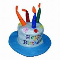 China Birthday Cake Candle, No Dripping, No Smoking, Nontoxic When Burning, Various Designs are Available on sale