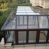 Best Residential Aluminum Sun Room Free Standing For Winter Garden / Glass House wholesale