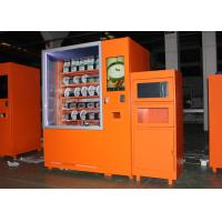 Airport Custom Microwave Sandwich Vending Machine With Sales Report , Automated