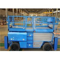 China Rough Terrain Scissor Lift With Automatic Pothole Protection System on sale