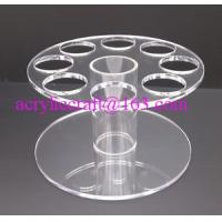 Best HIGH QUALITY ACRYLIC ROUND ICE CREAM CONE HOLDER DISPLAY STAND CARRIER wholesale