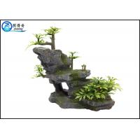 Best Mountain Aquarium Fish Tank Resin Ornaments For Decorating With Plants wholesale