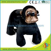Best Battery Operated Mall Motorized Animals Coin Operated Plush Motorcycle wholesale