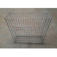 Best Permeable Steel Mesh Gabion Cages , Retaining Wall Gabion Cages 4.0mm Wire Gauge wholesale