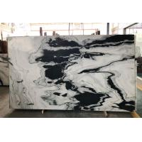 Buy cheap Polished Marble Kitchen Tops Wall Honed Exotic Panda Black White Marble Slabs from wholesalers