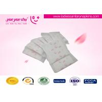 Best Disposable Regular Sanitary Napkins , Butterfly Design Cotton Feminine Pads wholesale