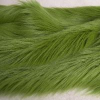 China Natural Green High Pile Plush (DCM013) on sale