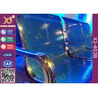 Best Chrome Finished Metal Structure Waiting Area Chairs For Bank / Bus Station wholesale