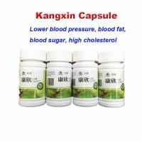 Best KangXin reduce lower high blood pressure product hypertension blood vessel clean capsule 100% herbs wholesale