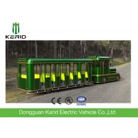 Best 42 Seats Electric Trackless Train , Electric Tourist Train For Outside Recreation wholesale